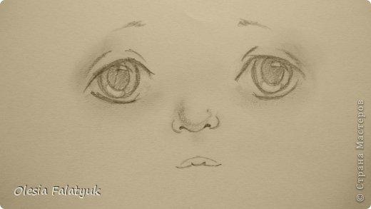 Рисовать лицо. Дети, куклы. фото 17