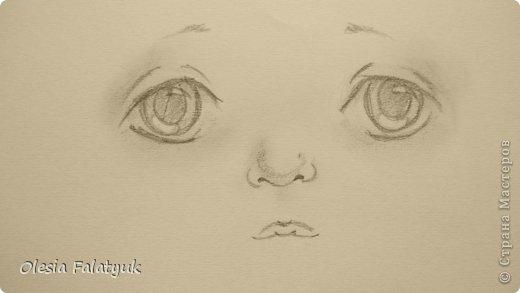 Рисовать лицо. Дети, куклы. фото 18