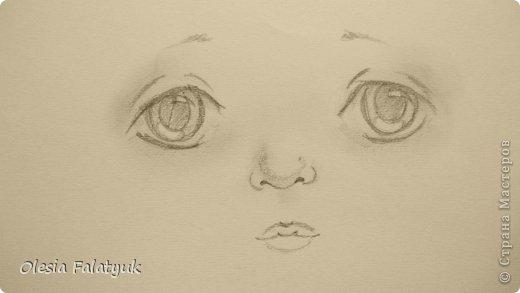 Рисовать лицо. Дети, куклы. фото 19