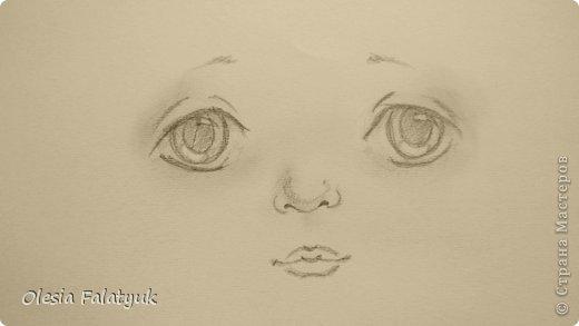 Урок рисования Рисование и живопись Рисовать лицо Дети куклы Карандаш фото 20
