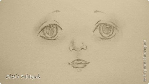 Рисовать лицо. Дети, куклы. фото 21