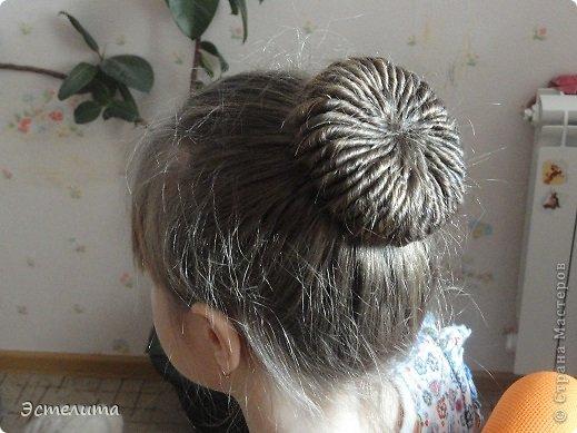 Мастер-класс Прическа Плетение Шишечка из жгутов Волосы фото 1
