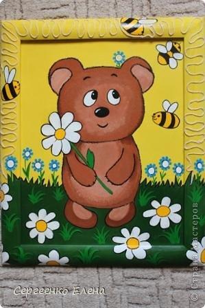 Вот такая красотулька нарисовалась летом.  Размер 40х50 см, краски акрил. Живёт теперь в Москве и, надеюсь, радует свою хозяйку.  фото 5