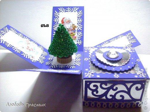 Куклы Поделка изделие Упаковка Новый год Рождество Аппликация Картонаж Magic box Ангел и С Новым годом Бумага Картон фото 6