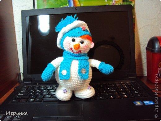Здравствуй, страна! Представляю  новую новогоднюю парочку снеговиков. фото 5