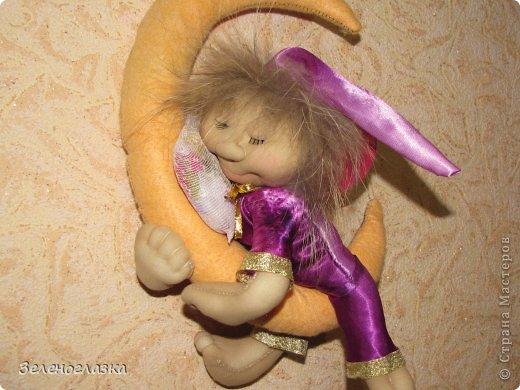 Вот такого ангелочка-сплюшку сшила для дочурки