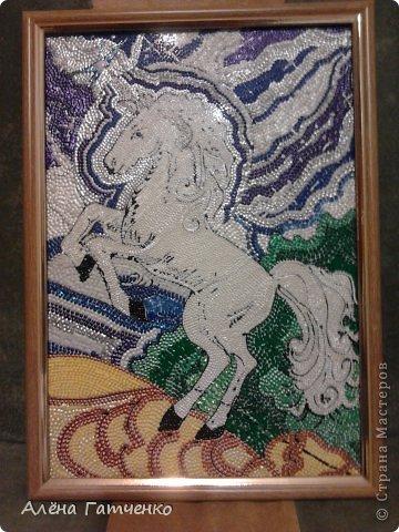 Здравствуйте мальчики и девочки! Я забежала очень быстренько показать вам своих лошадок в точечной росписи. фото 1