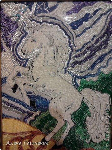 Здравствуйте мальчики и девочки! Я забежала очень быстренько показать вам своих лошадок в точечной росписи. фото 2