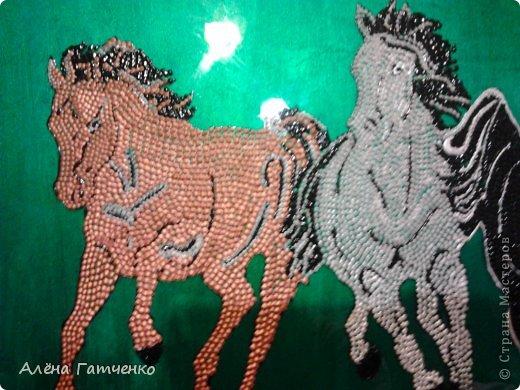 Здравствуйте мальчики и девочки! Я забежала очень быстренько показать вам своих лошадок в точечной росписи. фото 4