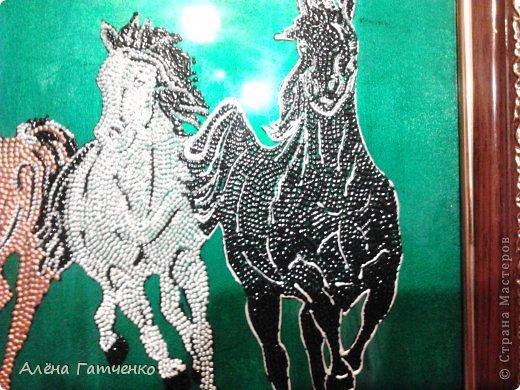 Здравствуйте мальчики и девочки! Я забежала очень быстренько показать вам своих лошадок в точечной росписи. фото 5