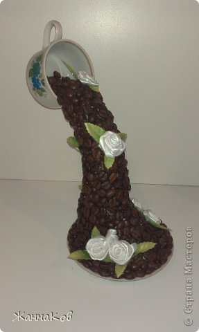 Парящая чашка с цветами своими руками мастер