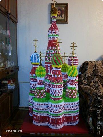 Схемы модульного оригами храма василия блаженного