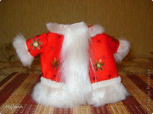 Игрушка Мастер-класс Новый год Шитьё Дед Мороз Ткань фото 13