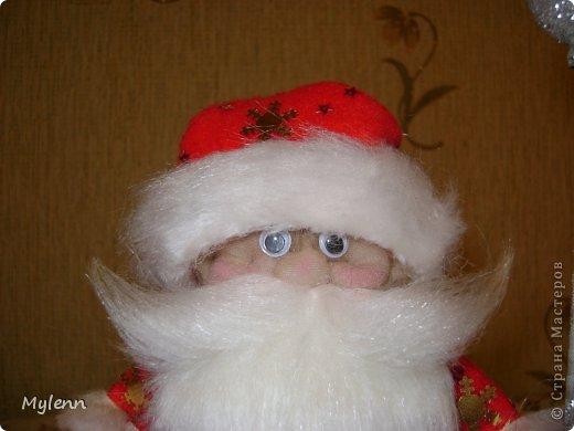 Игрушка Мастер-класс Новый год Шитьё Дед Мороз Ткань фото 26