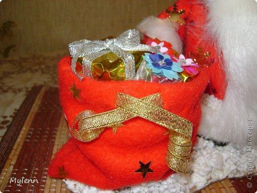 Игрушка Мастер-класс Новый год Шитьё Дед Мороз Ткань фото 27