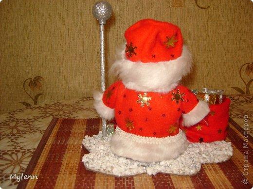 Игрушка Мастер-класс Новый год Шитьё Дед Мороз Ткань фото 29