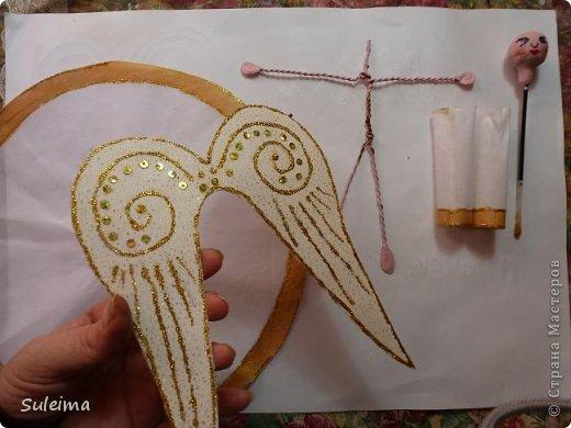 Мастер-класс Поделка изделие Новый год Лепка Шитьё Ангелы и феечки на елку новогодняя игрушка фото 22