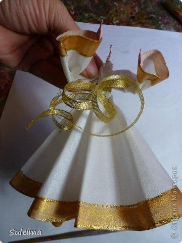 Мастер-класс Поделка изделие Новый год Лепка Шитьё Ангелы и феечки на елку новогодняя игрушка фото 27