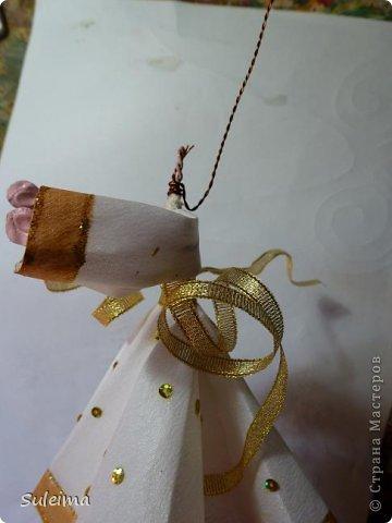Мастер-класс Поделка изделие Новый год Лепка Шитьё Ангелы и феечки на елку новогодняя игрушка фото 28