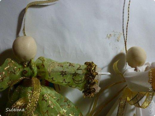 Мастер-класс Поделка изделие Новый год Лепка Шитьё Ангелы и феечки на елку новогодняя игрушка фото 30