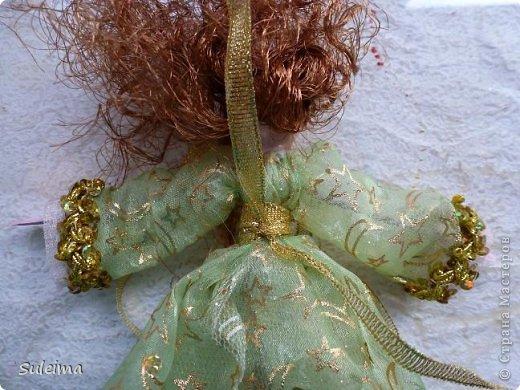 Мастер-класс Поделка изделие Новый год Лепка Шитьё Ангелы и феечки на елку новогодняя игрушка фото 33