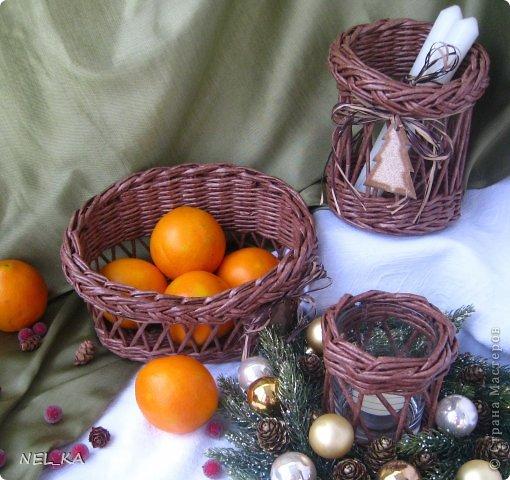Доброго всем дня!!!!!!!! Решили мы с Машей ( https://stranamasterov.ru/user/194969 ) в  этом году поучаствовать  в Новогодней Ярмарке и по этому поводу сплелись небольшие наборчики-малявочки для будущих покупателей. Это один из них. фото 2