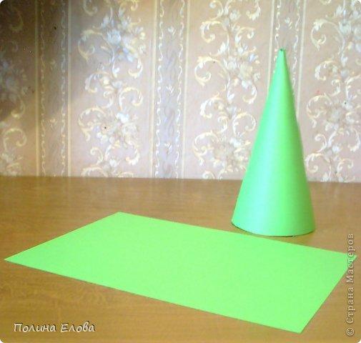 Мастер-класс Поделка изделие Новый год Моделирование конструирование Елочка из сизали фото 3