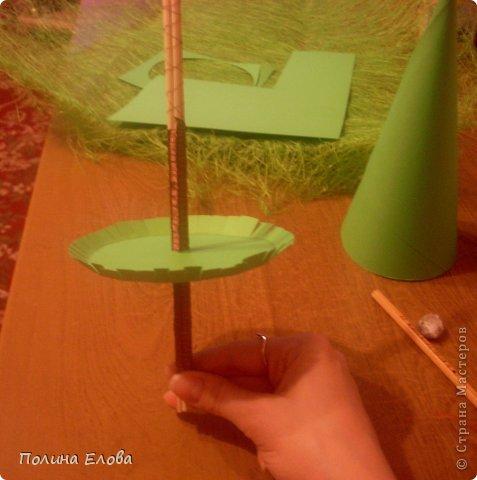 Как сделает маленькую елочку мк