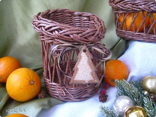 Доброго всем дня!!!!!!!! Решили мы с Машей ( https://stranamasterov.ru/user/194969 ) в  этом году поучаствовать  в Новогодней Ярмарке и по этому поводу сплелись небольшие наборчики-малявочки для будущих покупателей. Это один из них. фото 6