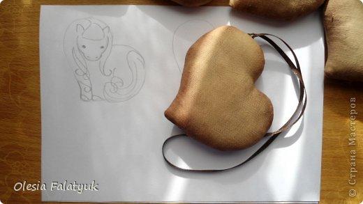 Мастер-класс Поделка изделие Новый год Шитьё Символ 2014 - лошадь Пряничный вариант игрушки пахнущий сувенир Ткань фото 19