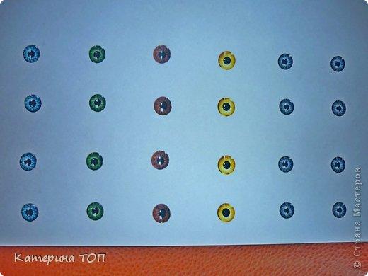 МК по изготовлению глазок в целом не новый, немного модернизированный для тех, кто не умеет рисовать радужку глаз фото 10