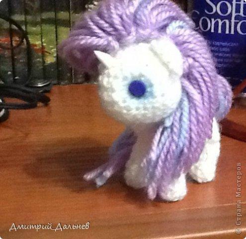 Игрушка Вязание крючком Пони Шерсть фото 3