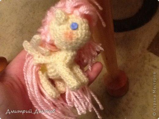 Игрушка Вязание крючком Пони Шерсть фото 2