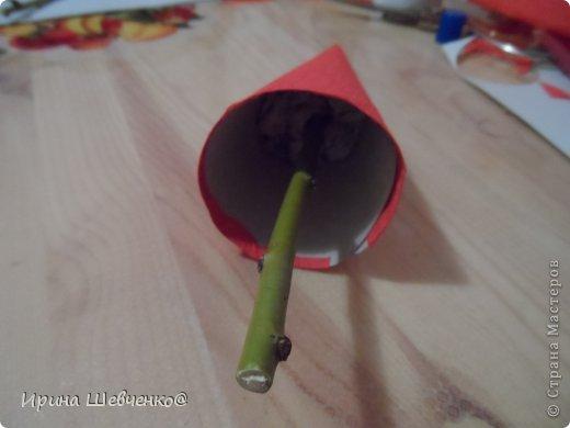 Как я делала ёлочки к Новому году, может кому-то будет интересно)  Ещё есть ёлочки раскрашенные акриловыми красками https://stranamasterov.ru/node/982599 фото 12