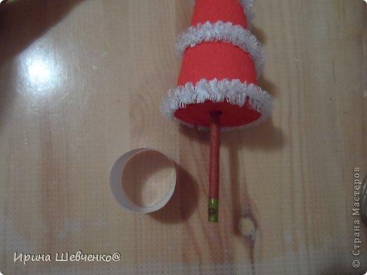 Как я делала ёлочки к Новому году, может кому-то будет интересно)  Ещё есть ёлочки раскрашенные акриловыми красками http://stranamasterov.ru/node/982599 фото 23