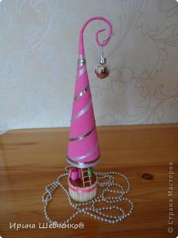 Как я делала ёлочки к Новому году, может кому-то будет интересно)  Ещё есть ёлочки раскрашенные акриловыми красками http://stranamasterov.ru/node/982599 фото 32