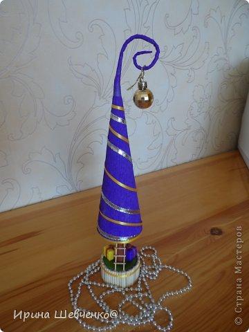 Как я делала ёлочки к Новому году, может кому-то будет интересно)  Ещё есть ёлочки раскрашенные акриловыми красками http://stranamasterov.ru/node/982599 фото 41