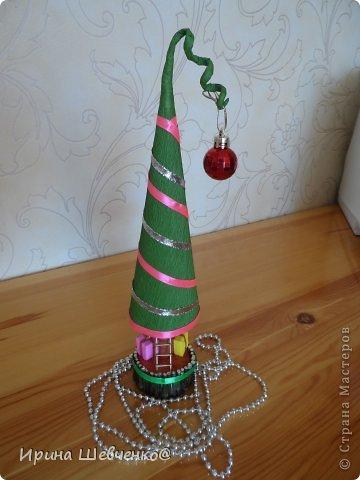 Как я делала ёлочки к Новому году, может кому-то будет интересно)  Ещё есть ёлочки раскрашенные акриловыми красками https://stranamasterov.ru/node/982599 фото 43