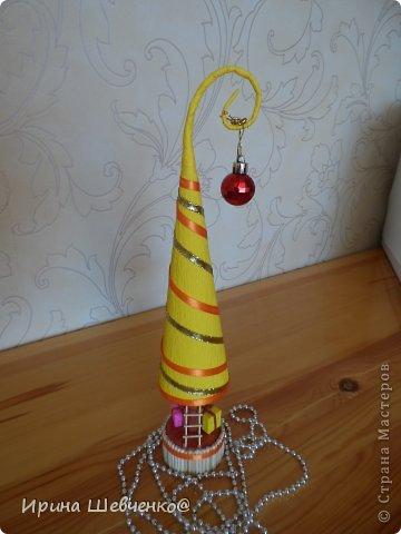 Как я делала ёлочки к Новому году, может кому-то будет интересно)  Ещё есть ёлочки раскрашенные акриловыми красками https://stranamasterov.ru/node/982599 фото 44