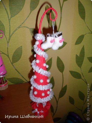 Как я делала ёлочки к Новому году, может кому-то будет интересно)  Ещё есть ёлочки раскрашенные акриловыми красками http://stranamasterov.ru/node/982599 фото 46