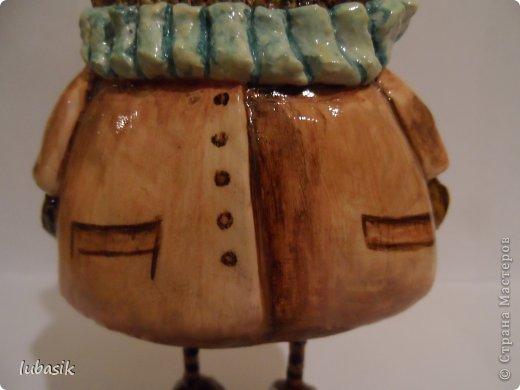 Мастер-класс Поделка изделие Папье-маше Совушки по рисункам Инги Пальцер Бумага Клей Краска Пенопласт Салфетки фото 8