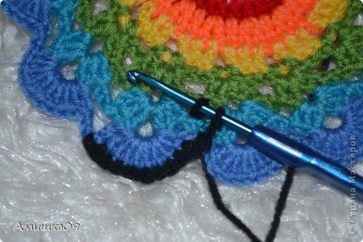 Интерьер Мастер-класс Вязание крючком Цветик-семицветик крючком Нитки Пряжа фото 17