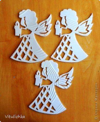 Ангелочки, ёлочки, снежинки для уличной елки фото 4