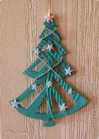 Ангелочки, ёлочки, снежинки для уличной елки фото 11