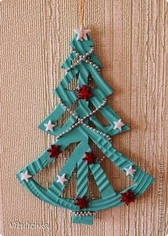 Ангелочки, ёлочки, снежинки для уличной елки фото 12