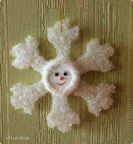 Ангелочки, ёлочки, снежинки для уличной елки фото 13