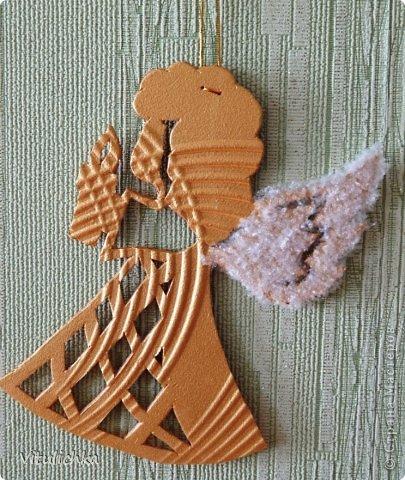 Ангелочки, ёлочки, снежинки для уличной елки фото 7