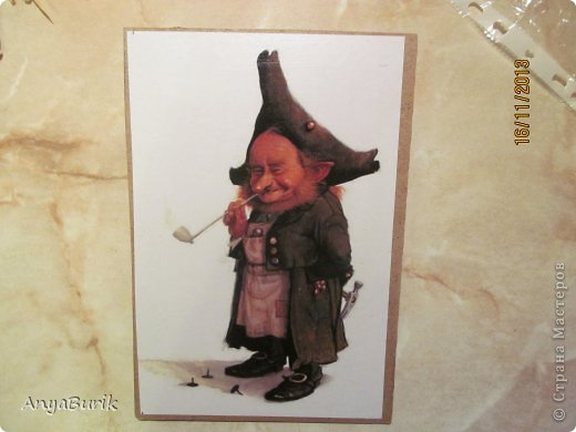 Картина панно рисунок Мастер-класс Лепка Лепка на распечатку МК Клей Краска Тесто соленое фото 1