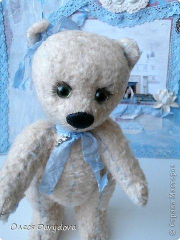 Медвежонок для сестренки. Зовут Чоузетта, девочка нежная, изысканная и слегка капризная. фото 2