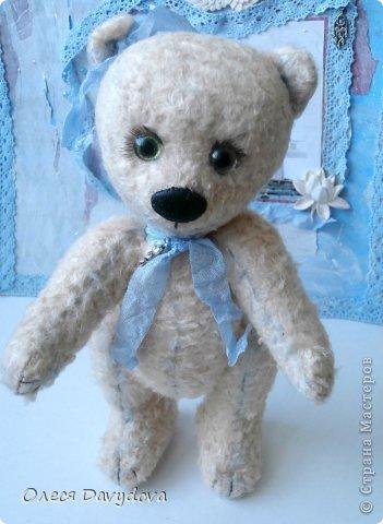 Медвежонок для сестренки. Зовут Чоузетта, девочка нежная, изысканная и слегка капризная. фото 3
